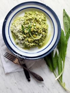7 Recipes for Ramps: Grain-Free Risotto with Asparagus Ramp Sauce