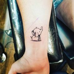 16 Adorable Tiny Elephant Tattoos That You'll Never Forget