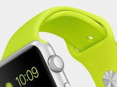 Along with the launch of the new iPhone 6 & iPhone 6 plus, Apple launched another exciting product as a surprise for its customers, the Apple Watch! Apple Smartwatch, Neue Apple Watch, Smart Watch Apple, Apple Watch Apps, Wearable Device, Wearable Technology, Nouveau Iphone, Apple Live, Last Action Hero