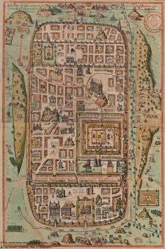 Old City Jerusalem Israel Map By National Geographic Homeschool - Jerusalem on world map