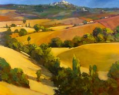 Philip Craig has new paintings at Terence Robert Gallery (531 Sussex Dr.), and the large canvases adoringly capture the landscapes in Ontario's cottage country and in Tuscany.