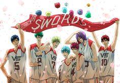 Gakuen Babysitters, Akakuro, Kuroko's Basketball, Kuroko No Basket, Vorpal Swords, Haikyuu, Fujoshi, Naruto, Otaku
