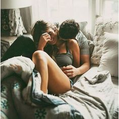 Cute couples teen couples love bed sweet romantic kiss for more: Photo Couple, Love Couple, Couple Goals, Couple Bed, Cute Couples Cuddling, Cute Couples Goals, Romantic Cuddling, Love Kiss Romantic, Romantic Couples In Bed