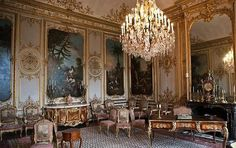 chantilly france chateau interior/images | Royal Interiors – Chateau de Chantilly | Interior Design Files