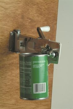 Wall-mounted Manual Can Opener ... In almost every kitchen.