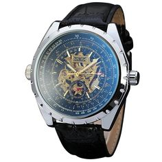 19.37$  Watch here - http://alijy2.shopchina.info/go.php?t=32789278800 - WINNER Men's Military Wrist Watches Top Brand Luxury Automatic Mechanical Watches Skeleton Men's Fashion Clock Gift for Men +BOX 19.37$ #aliexpresschina