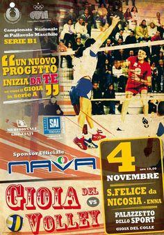 Manifesto serie b1 Gioia del volley