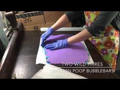 This is a video showing how I roll my Unicorn Poop BuBBleBars. These are a 6 layer bubblebar in a rainbow design. I hope it helps you with rolling your own c...