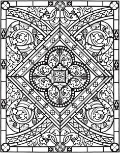 Welcome to Dover Publications; Creative Haven Elegant Designs of the Ages Coloring Book