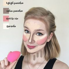 Simple Highlight & Contour (HAC) tips with Maskcara Beauty HAC pack!