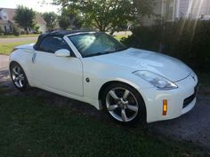 My dream finally came true. It's MY Nissan 350z convertible!!!