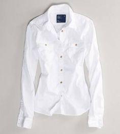 Women's AE Chambray Workwear Shirt