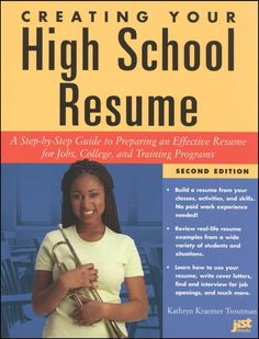 Creating Your High School Resume