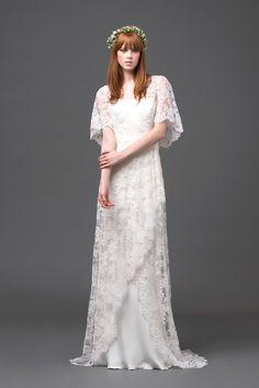 Alberta Ferreti Best in Bridal: Spring 2015   http://www.hawaiianweddings.net #weddingdresses #harpersbazaar #springfashionweek