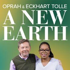 """Oprah spricht mit Eckhart Tolle in zehn Podcast Folgen über sein Buch """"A new Earth"""" ♡"""