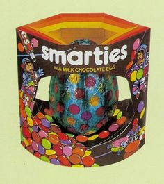 Fab space themed Smarties Easter Egg from 1987 Cherished Memories, Sweet Memories, Retro Sweets, 90s Sweets, 80s Kids, My Childhood Memories, Retro Toys, Vintage Easter, My Memory