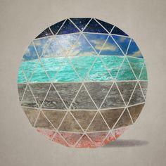 """""""Geodesic II"""" by Terry Fan"""