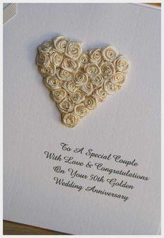 Wedding Ideas, 50th Wedding Anniversary Card: ideas for 50th wedding ...
