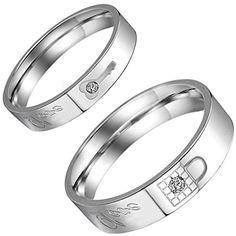 Aroncent 1 Paar Herren Damen Ringe, Edelstahl Sperren Sch... https://www.amazon.de/dp/B01EZI1UO2/ref=cm_sw_r_pi_dp_ecpvxbGWCJT03