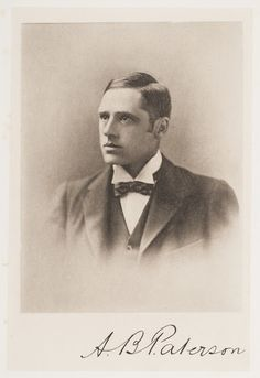 Andrew Barton (Banjo) Paterson c. Man From Snowy River, Weekend Weather, Orange City, Amazing Pics, Banjo, Vintage Photographs, Old Photos, The Past, Cottage