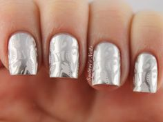 silver on white -love it!