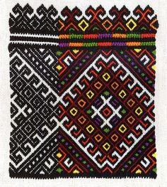 FolkCostume&Embroidery: Hutsul Costume, part 1