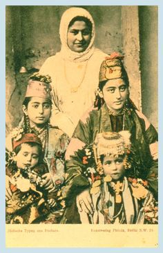 """""""EXOTIC"""" JEWISH IMAGES were also popular with European Jews. Here, too, it is possible to point to contemporary postcards in the general world. The Orientalist phenomenon in late-nineteenth-century European culture led to postcards showing foreign sites and types during the Golden Age.Thus, many cards were illustrated with photographs of Jews from Yemen, Bukhara and Caucasia dressed in their colorful native garb."""