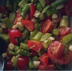 Spargel-Avocado-Salat - LowCarbRezept