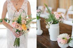 Pink floral design | Birmingham Alabama Southern Wedding Inspiration