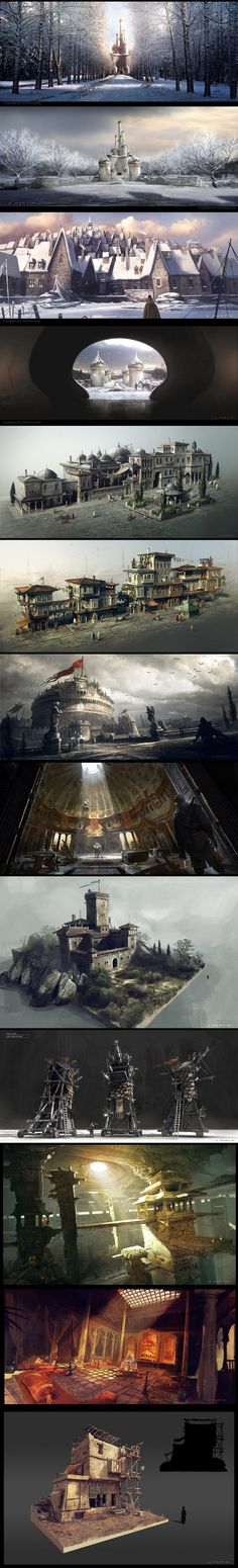 Article about our concept artist Olivier Martin