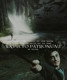 When Harry defeated an army of Dementors with the Patronus Charm.   45 Times Harry Potter Fans Lost Their Cool At The Movie Theater