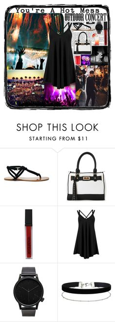 """Outdoor Concert"" by psycho-dreamer on Polyvore featuring moda, Sole Society, IMoshion, Smashbox, Komono y Miss Selfridge"