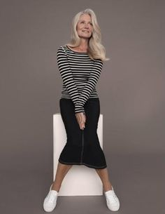 Pia Gronning | Aging gracefully: fashion, hair, diet and life style ...