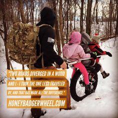 Honey Badger Wheel | All-Terrain Off-Road Stroller for Hiking with Kids