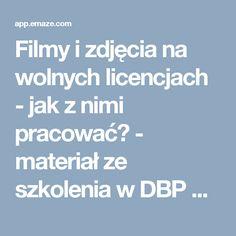 Filmy i zdjęcia na wolnych licencjach - jak z nimi pracować? - materiał ze szkolenia w DBP we Wrocławiu Professional Presentation, Album