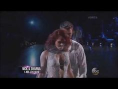 Nick Carter and Sharna Burgess: Week Eight - Contemporary