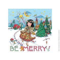 Be Merry Fine Print – Mary Engelbreit Studios