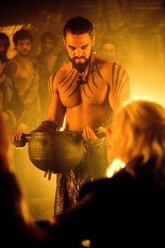 Khal Drogo. Increíble fotografía
