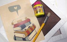 Michella Souza: {Decoração} Posters para seu atelier/home office