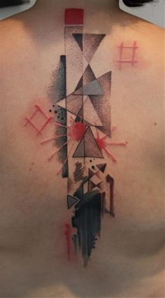 L'ART DU POINT / Pascal Scaillet Sky. #tattoo #geometric #triangle #dot