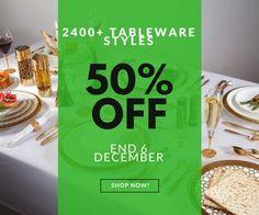 http://www.clicknbuyaustralia.com/sale/ 2400+ #Tableware #Styles #Sale Upto 50% OFF End December 6 #Australia #Melbourne #Sydney #homewares #Homedecor #Perth #Brisbane #Adelaide #Canberra