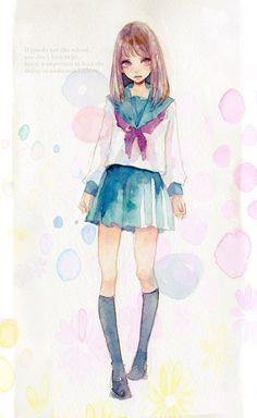 「セーラー服」/「miya」のイラスト [pixiv] member ID: 97674