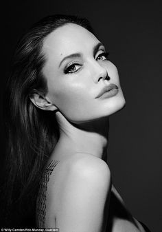 Classic beauty: Angelina Jolie has now reminded her loyal fans of her breath taking beauty in her latest campaign with iconic Parisian brand Guerlain for their new perfume Mon Guerlain