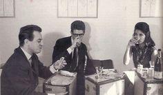 1962 - Pierre Berge, YSL & Victoire Doutreleau by Pierre Boulat