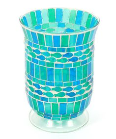 Another great find on #zulily! Blue & Teal Flare Fish Candleholder #zulilyfinds