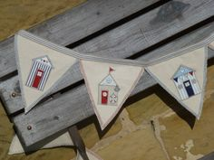 Seaside bunting...every beach hut should have it!