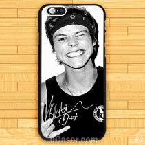 Ashton Irwin 5 Seconds Of Summer iPhone Cases Case 5sos Merchandise, Summer Iphone Cases, Ashton Irwin, 5 Seconds, Chanel, Shopping, Black, Cover, Gift