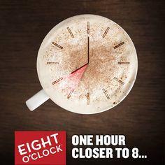 One hour closer to 8...