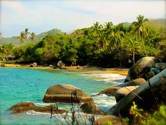 Exploring Tayrona National Park, Colombia (a. Parque Nacional Tayrona) via G… Exploring Tayrona National Park, Colombia (a. Tayrona National Park) via Green Global Travel Travel Tours, New Travel, Travel Destinations, Travel List, Travel Advice, Travel Guides, Visit Colombia, Colombia Travel, Travel Pictures