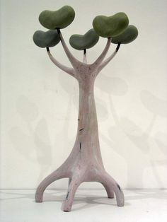 Bean Tree, maquette for Cyber Flora series.